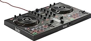 Hercules DJControl Inpulse 300 –Controlador DJ USB–2Pistas con 16Pads y Tarjeta de Sonido–Incluye Software y Tutori...