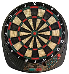 Best Sporting electronic dart board Exeter Dartboard with 12 darts and spare tips dart machine with power supply