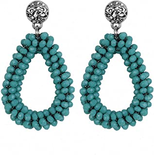 Womens Drop Dangle Earrings New Earrings Big Long Earrings for Women Pendantes Christmas Drop Dangling Crystal Earrings