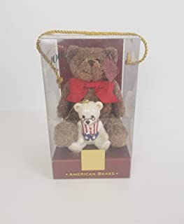 Lenox China 100th Anniversary American Bears Teddy Bear New Plush and Porcelain Ornament