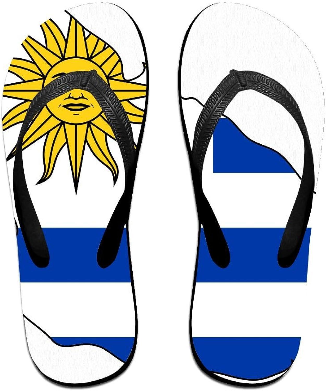 Unisex V Flip Flops Uruguay Flag Personalized Summer Slipper