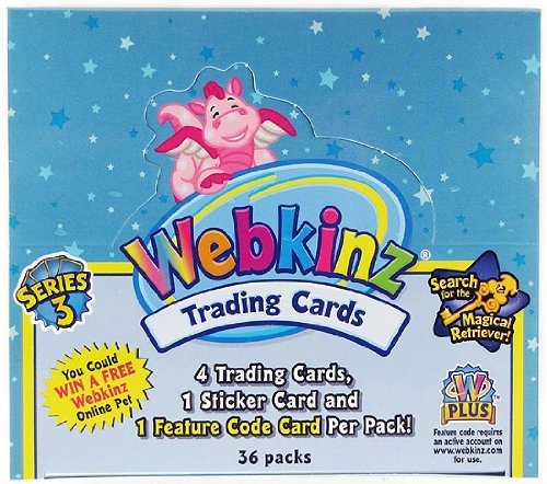 Webkinz Trading Cards-Series 3 Sealed Box
