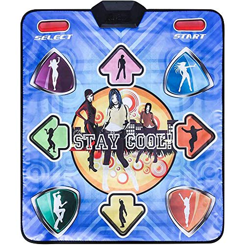 XYW Tanzmatte, Multifunktions Spiel Tanzschritt-Padsmit Entertainment Yoga-Decke Für TV-Computer USB Lose Weight Pads Dancer Decke Für Erwachsene und Kinder