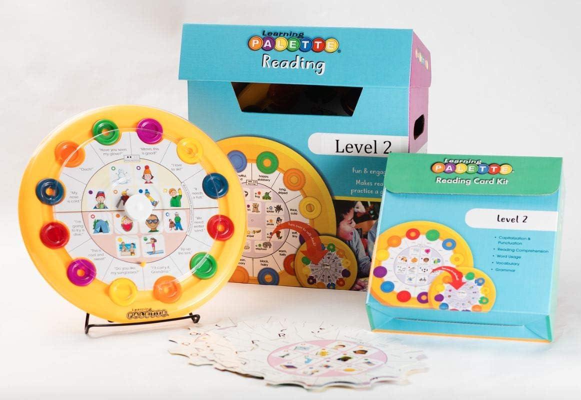 LEARNING WRAP-UPS SELF-CORRECTING 2nd Grade Reading 1 Base Center Kit