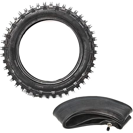Yctze 3.00-12 80/100-12 Motorcycle Tire,Rubber Tire Inner Tube Set ...