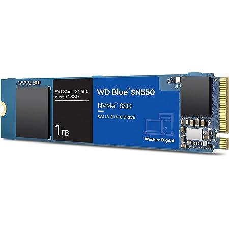Western Digital ウエスタンデジタル 内蔵SSD 1TB WD Blue SN550 (読取り最大 2,400MB/秒) NVMe WDS100T2B0C-EC 【国内正規代理店品】