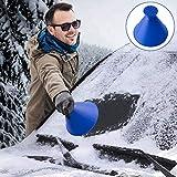 Raschietto Ghiaccio, Raschiaghiaccio Auto, Snow Brush per Auto, Rimozione neve auto Ice Sc...