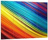 pixxp Blueprint hbv 2520_ 80x 60Rayas Multicolores, MDF de...