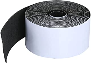 Pllieay 1 Pack Self Adhesive Felt Tape Polyester Felt Tape Furniture Felt Strips 1.96 inch x 0.04 inch x 14.7 feet for Fur...