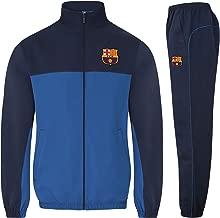 FC Barcelona Official Soccer Gift Mens Jacket & Pants Tracksuit Set