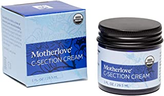 Motherlove C-Section Cream (1oz) Organic Herbal Salve to Soothe Discomfort from Cesarean Birth Incisions Wh...