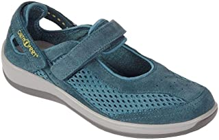 Orthofeet Bunions Plantar Fasciitis Pain Relief Arch Support Orthopedic Diabetic Womens Mary Jane Shoes Sanibel