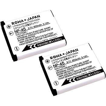 【EN-EL10共通タイプ】 FUJIFILM NP-45 互換 バッテリー【2個セット】【ロワジャパンPSEマーク付】【日本規制検査済み】