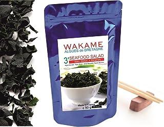 Algas Secas Wakame de Bretaña ● Envase de 50g (10-20