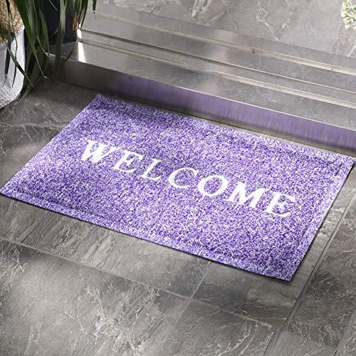 ZAQI Felpudos Entrada casa Alfombra de Puerta Linda Personalizada para Interior al Aire Libre, Lavable Impermeable Alfombra de Puerta Frontal Duradera para Aula de Oficina Patio de Granja