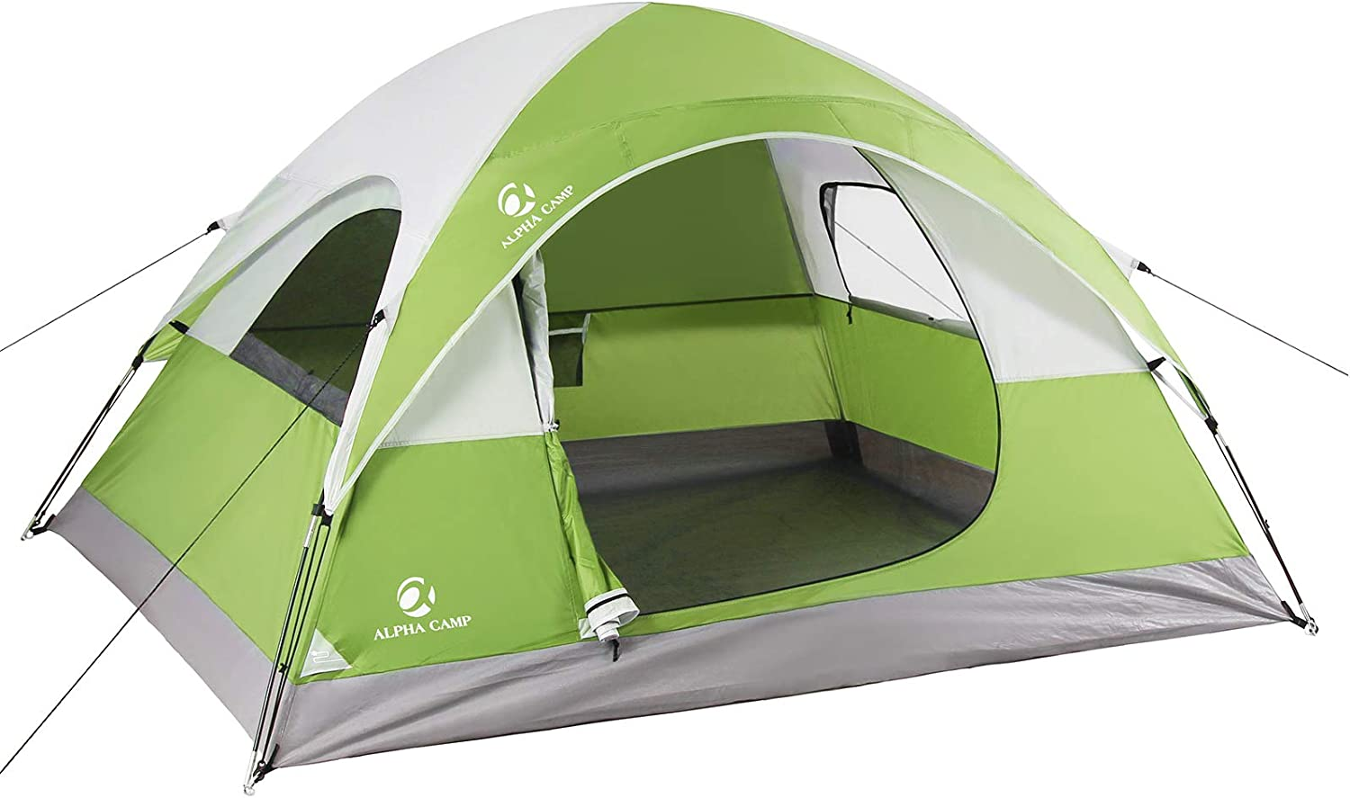 ALPHA CAMP 2 3 Person Camping Carry 2021new shipping free with Lightwei Dome Bag Tent OFFer