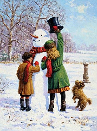 Royal & Langnickel 27,9x 38,1cm Winter Wonderland vorgedruckt Malen nach Zahlen MALEN SET