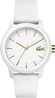 Lacoste Womens Quartz Watch, Analog Display and Silicone Strap 2001063