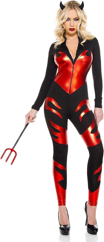 3 PC. New Max 88% OFF popularity Ladies Sizzling Costume Devil Jumsuit Set
