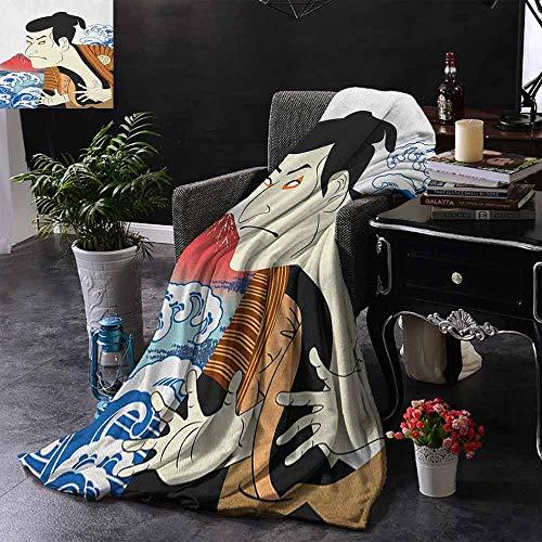 ZSUO bont deken moderne penseel letters in zwart op witte achtergrond vrijgeven spanning thema gooi lichtgewicht Cozy pluche microvezel massief deken