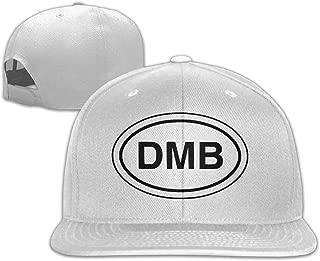 Ogbcom DMB Dave Mathews Logo Snapback Adjustable Flat Baseball Cap/Hat