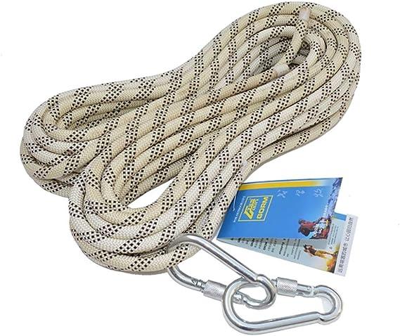 LSLS Cuerda de Escalada de 12 mm, Salvavidas Cuerda de Escape ...