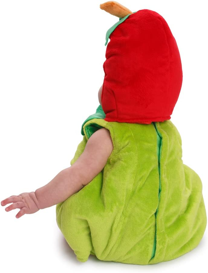 0-6 Months Weight: 3.5-7 kg, Height: 43-61 cm Dress Up America 867-0-6 Sugar Sweet Baby Apple Costume