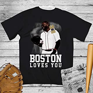 Ortiz-32 David Boston Loves You Baseball Legend Shirt Customized Handmade Hoodie/Sweater/Long Sleeve/Tank Top/Premium T-shirt
