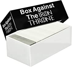 Box Against The Iron Throne - Box Game - Party Game