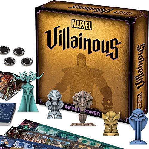 Ravensburger Marvel Villainous Infinite Power - Strategiespiel für Erwachsene und Kinder ab 12 Jahren
