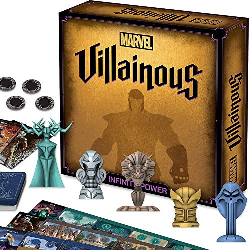 Ravensburger 26844 Marver Marvel Villainous Infinite Power Strategy Board Game for Adults & for Kids Age 12 and Up