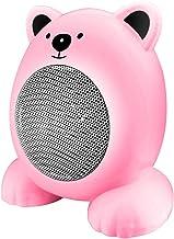 Chauffage Chaud Économie D'énergie De Bureau Accueil Petit Électrique Chauffe Rapide Accueil (Color : Pink)