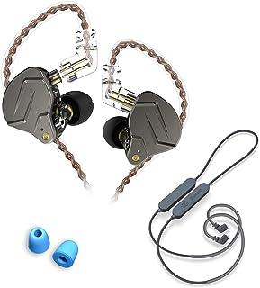 $36 » Sponsored Ad - KZ ZSN Pro Metal Earphones(Black,no mic)+KZ APTX HD CSR8675 Bluetooth 5.0 Set +Memory Foam earplugs(Free,Ra...