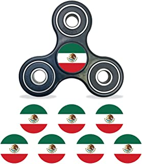 MightySkins Vinyl Decal Skin Compatible with Fidget Spinner Center Cap – Mexican Flag | Protective Sticker Wrap for Your Fidget Toy Bearing Cap | Easy to Apply Cover