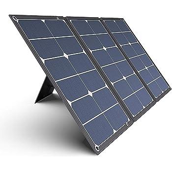 Jackery SolarSaga 60 ソーラーパネル 60W ETFE ソーラーチャージャー 折りたたみ式 DC出力 DCポータブル電源充電器 USB出力 スマホやタブレット 充電可能 高変換効率 超薄型 軽量 コンパクト 単結晶 防災 防水 (60W 18V 3.3A) Jackery ポータブル電源用 24ヶ月保証