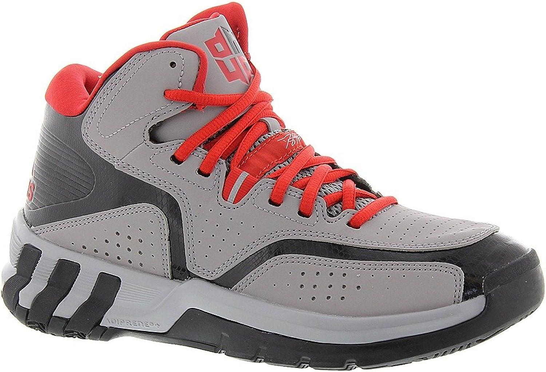 Adidas D Howard 6 Kids Basketball shoes 7 Light Onix-Vivid Red-Black