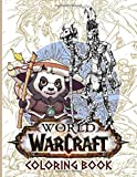 World Of Warcraft Coloring Book: Coloring Books For Adults, Tweens - Perfectly Portable Pages