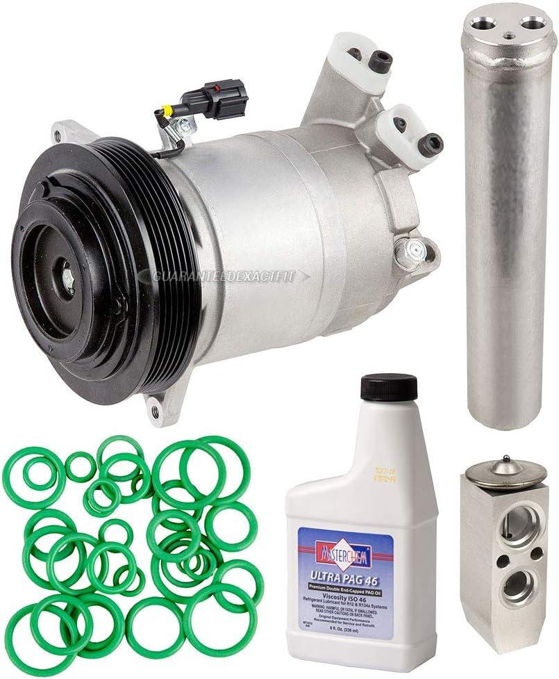 A//C Condenser /& Radiator Kit for Nissan Altima Maxima