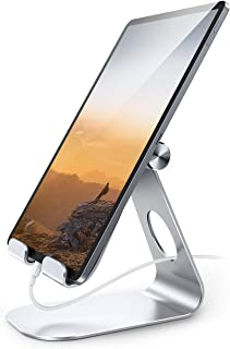 Lamicall Support Tablette, Support Tablette Réglable - Support Dock pour 2020 iPad Pro 9.7, 10.5, 12.9, iPad Air, Air 2, i...