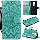 Laybomo Motorola Moto E5 Plus Etui Housse PU Cuir Pochette Portefeuille Aimant Protecteur Cover Doux...