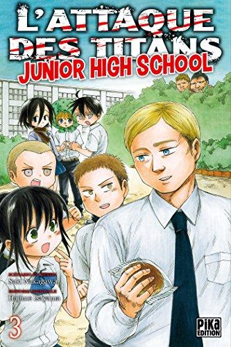 L'Attaque des Titans - Junior High School T03