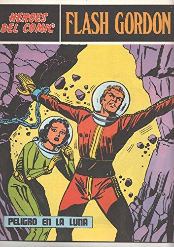 Flash Gordon de Burulan numero 063 (numerado 1 en trasera): Peligro en la luna