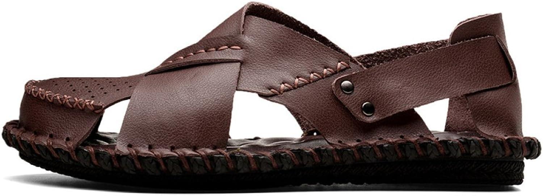 YXLONG 2018 Sommer Strand Schuhe Neue Neue Neue Männer Casual Sandalen Atmungsaktive Rutschfeste Dual-Use-Sandalen Und Hausschuhe 867c7d