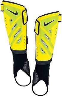 Nike Protegga Shield Soccer Shinguard Yellow-Blk Detachable Ankle 4'11-5'3