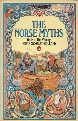 The Norse Myths: Gods of the Vikings 0140060561 Book Cover