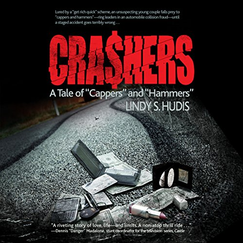 Crashers audiobook cover art