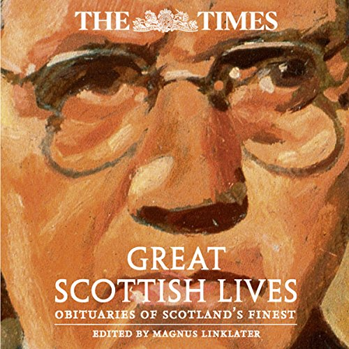 The Times Great Scottish Lives audiobook cover art