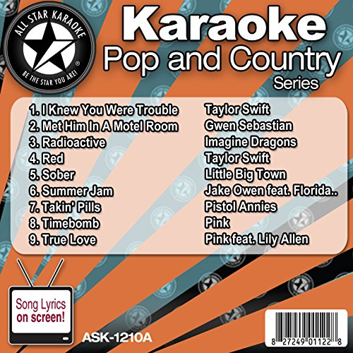 All Star Karaoke Pop and Country Series (ASK-1210A)