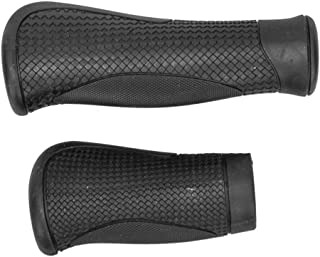 Bike Grips Ergo Ridge 130mm Black Pair