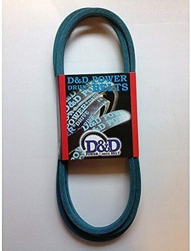 D&D PowerDrive 954-04139 MTD or CUB Cadet Kevlar Replacement Belt, 1 Band, Aramid